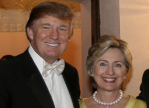trumpclintonwedding